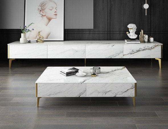 Sintered Stone TV Console / Coffee Table Sintered Stone