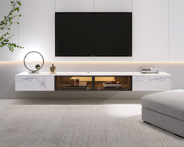 Wall Mount TV Console