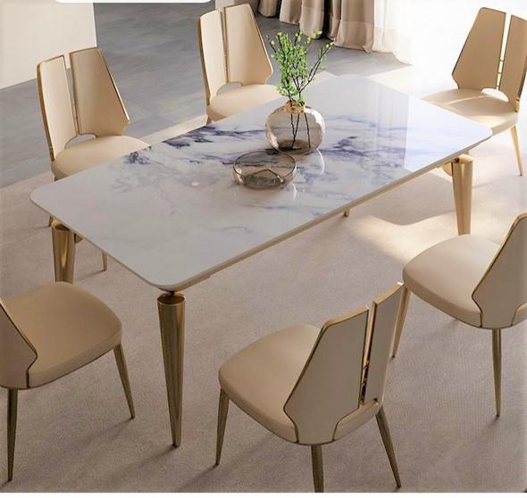 European Luxury Sintered Stone Dining Table