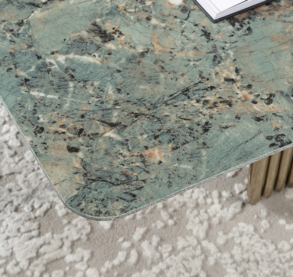 Luxury Amazon Sintered Stone Coffee Table