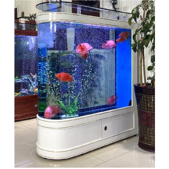 Boat Shape Fish Tank with ensemble Filter