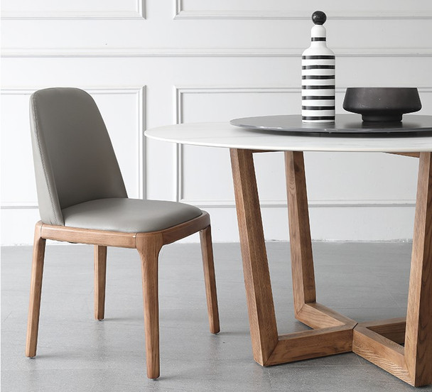 Leather Dining Chair / Modern Dining Chair / Lounge Chair