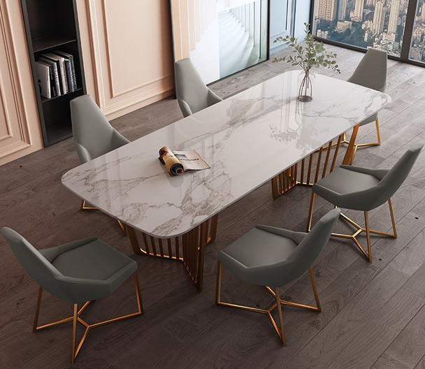Luxury Design Sintered Stone Dining Table