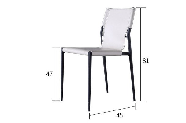 Classic High Back Dining Chair