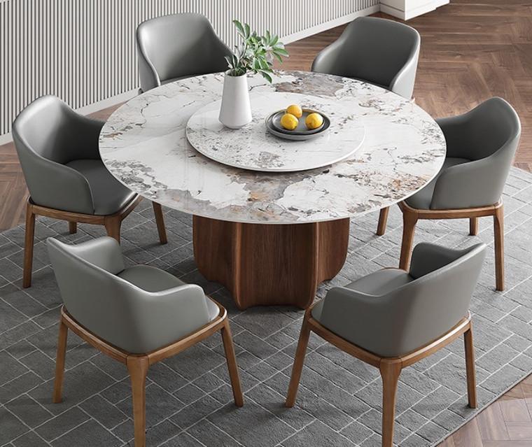 Pandora Round Sintered Stone Dining Table