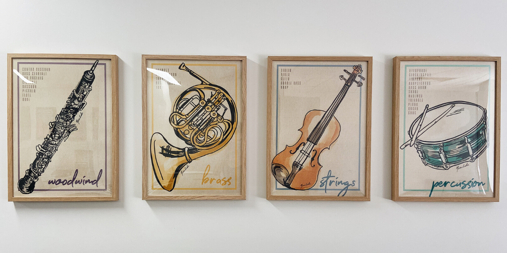 Instruments Of The Orchestra - Poster Pack