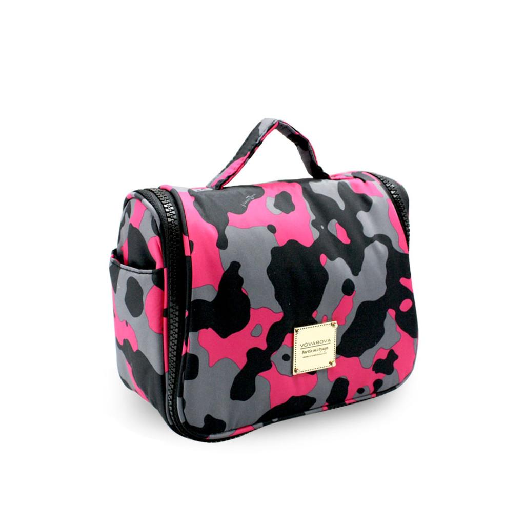 Travel Toiletry Bag - Camo chic