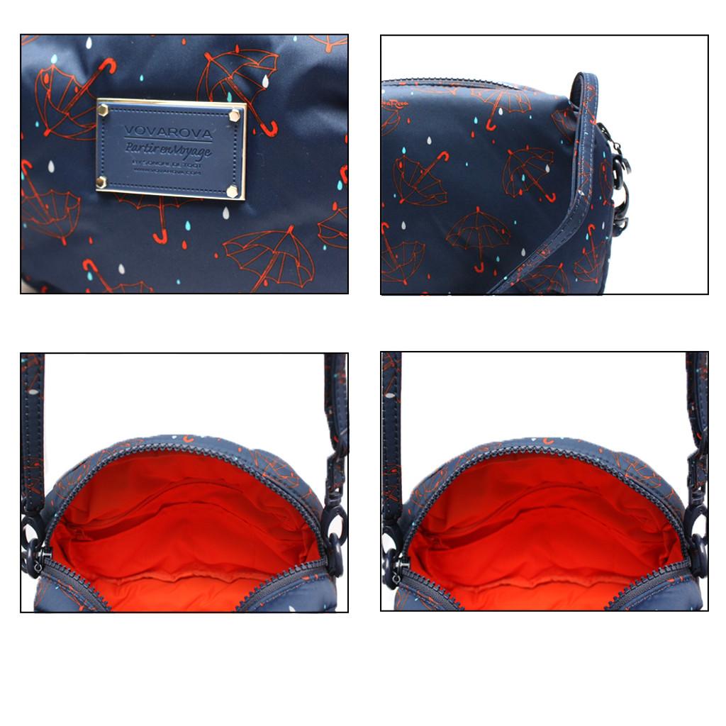 Mini Sling Bag - Singing in the rain - Blue