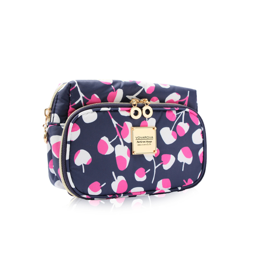 All-in-one makeup pouch - Cherrypicks - Pink