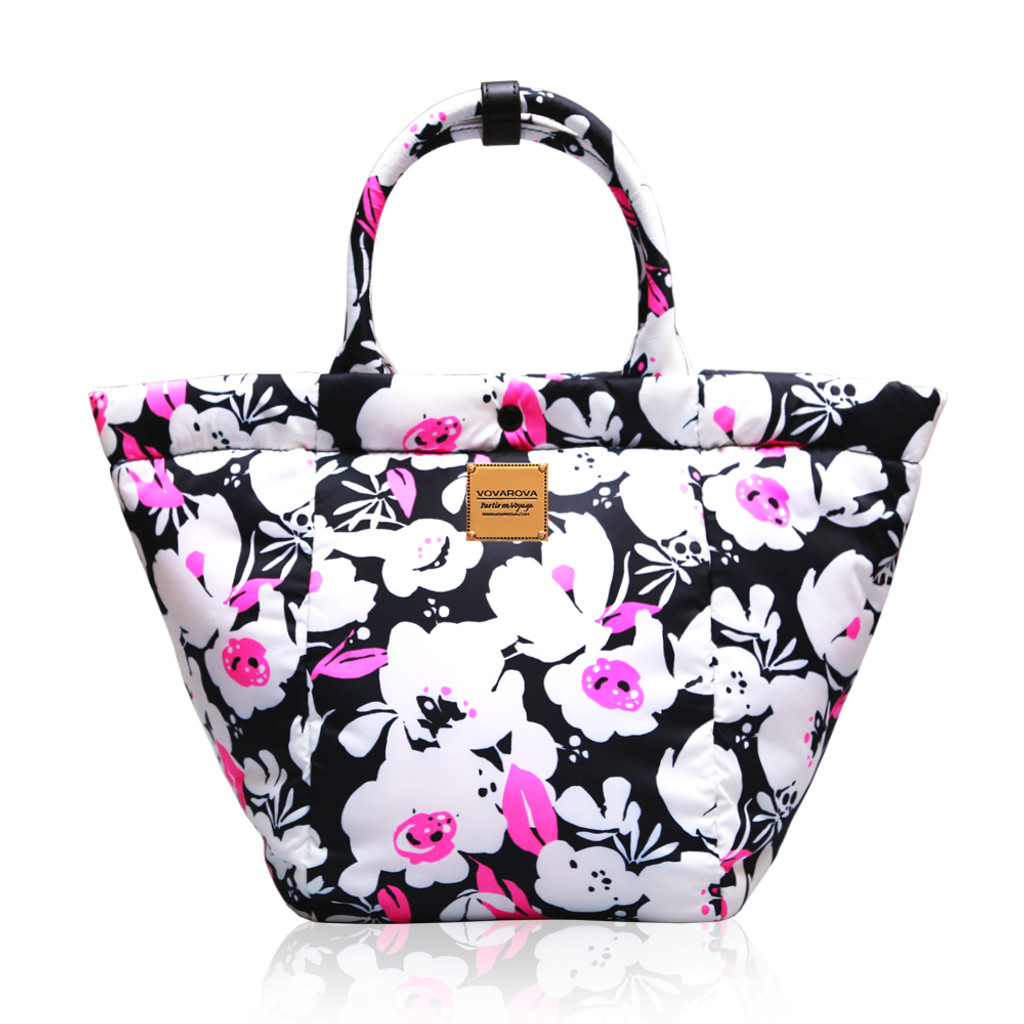 2 Way Tote Bag - Pinky Bloom