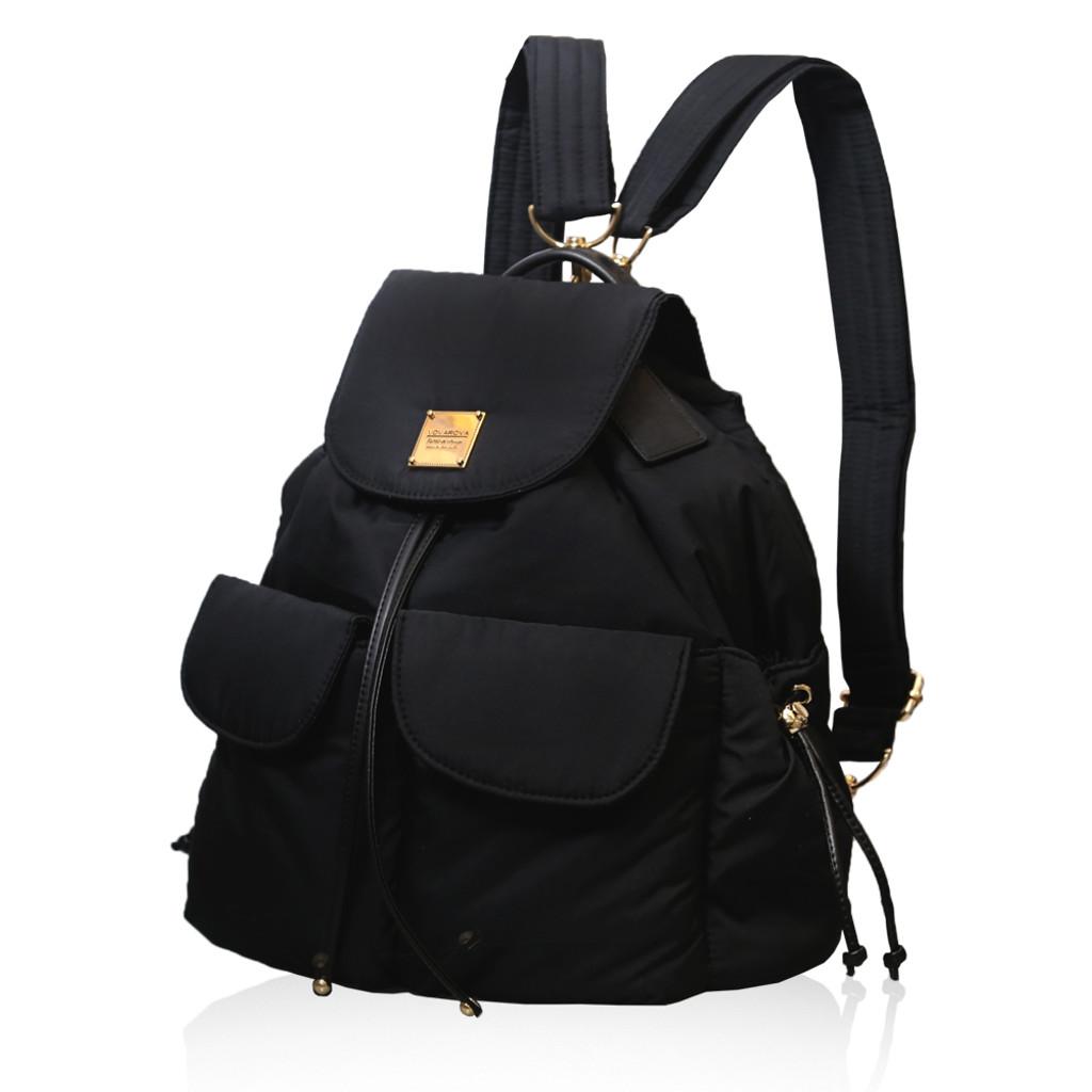 2WayDrawstringBackpack - Black