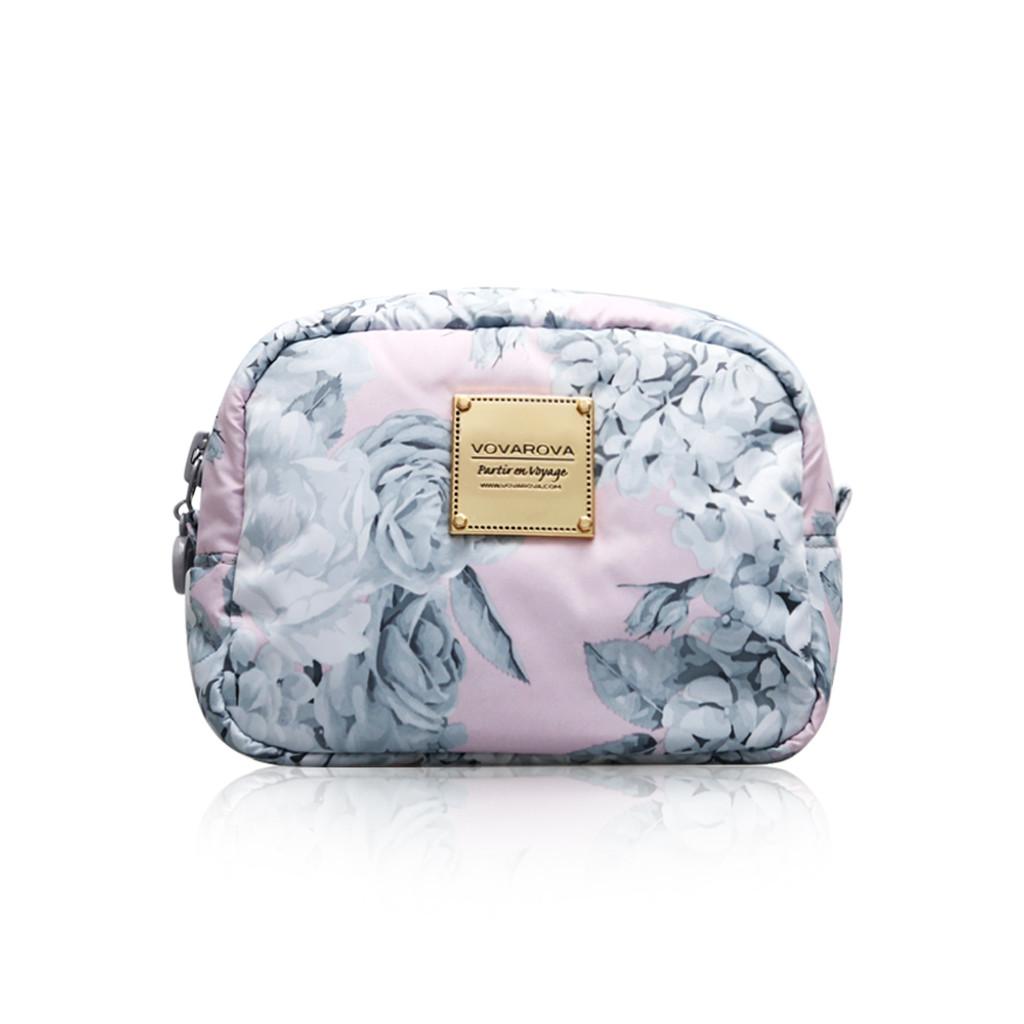 Mini Cutie Pouch - Rose Garden - Pink