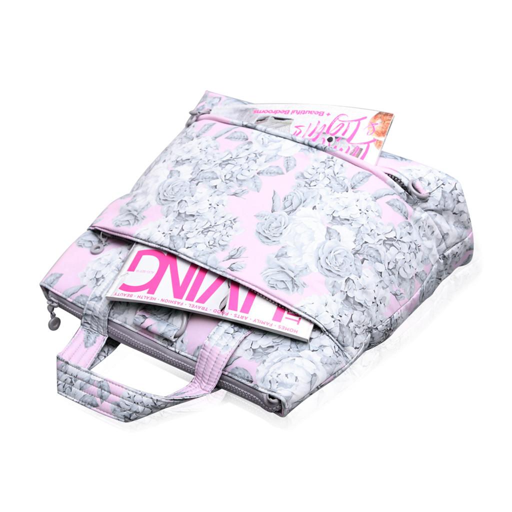 Convertible Satchel - Rose Garden Pink