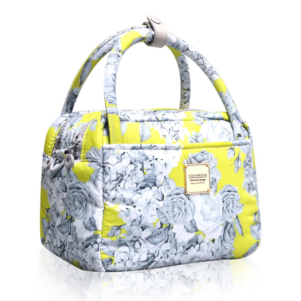 Cubic Cute 2-Way Bag - ROSE GARDEN - YELLOW