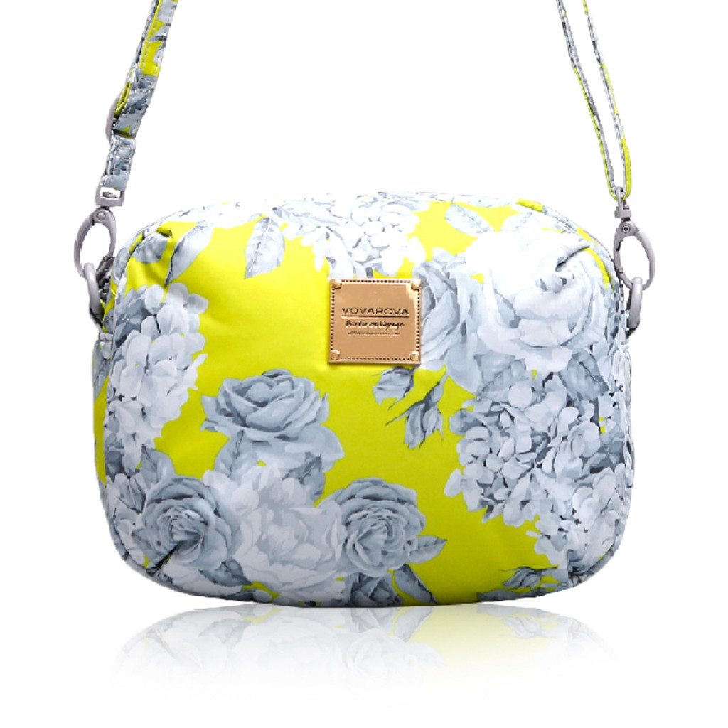 Mini Sling Bag - Rose Garden - Yellow