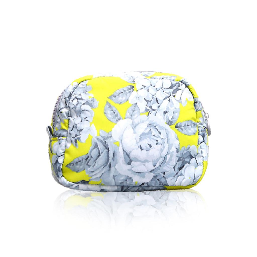 Mini Cutie Pouch - Rose Garden - Yellow