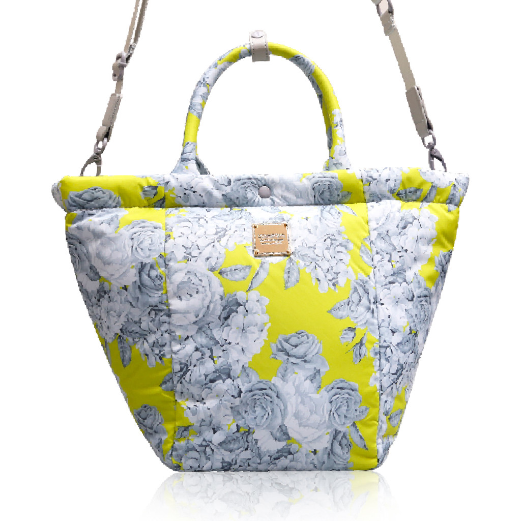 2-Way Tote Bag - Rose Garden - Yellow