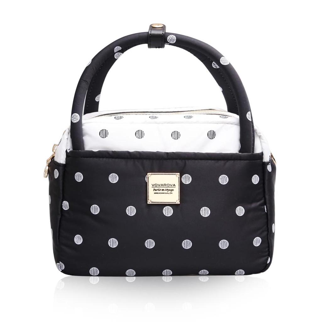 Cubic Cute 2-Way Bag - Stripy Dotty
