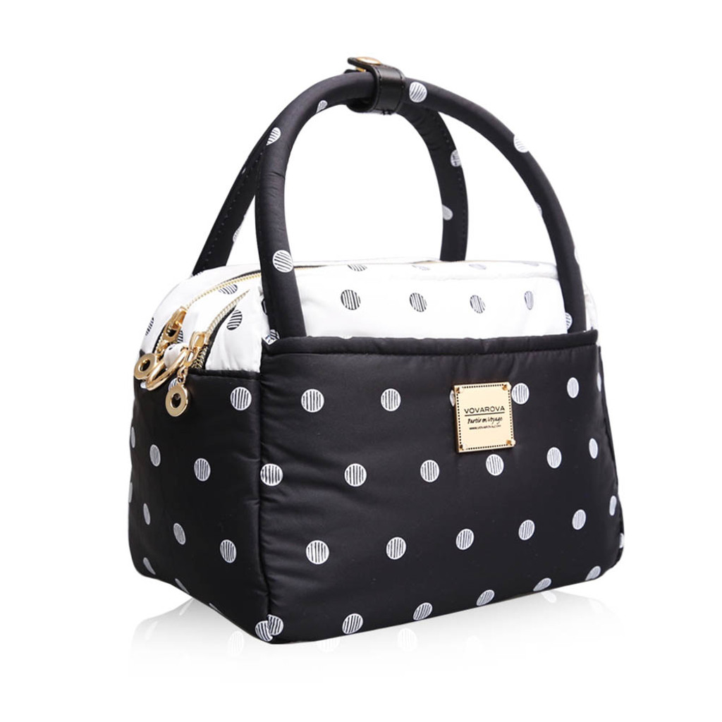 Cubic Cute 2-Way Bag - Stripy Dotty