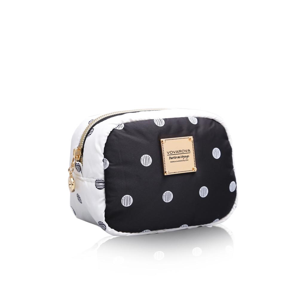 Mini cutie pouch - Stripy Dotty