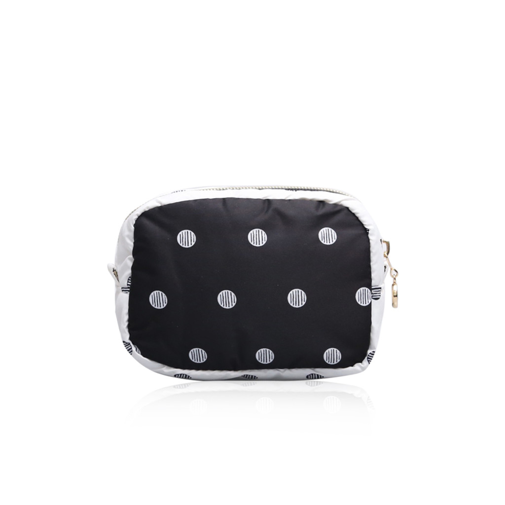 Mini cutie pouch - Stripy Dotty