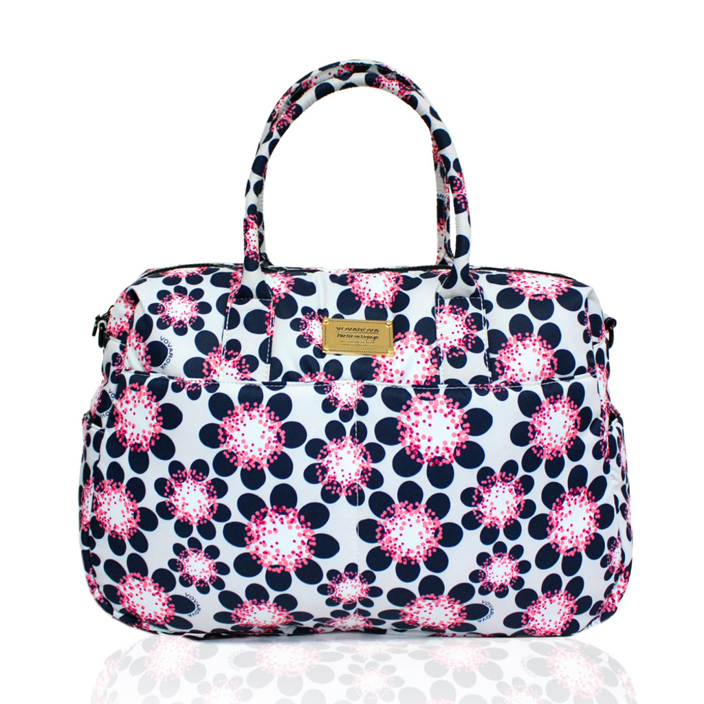 Boston Bag - Poppy Floral