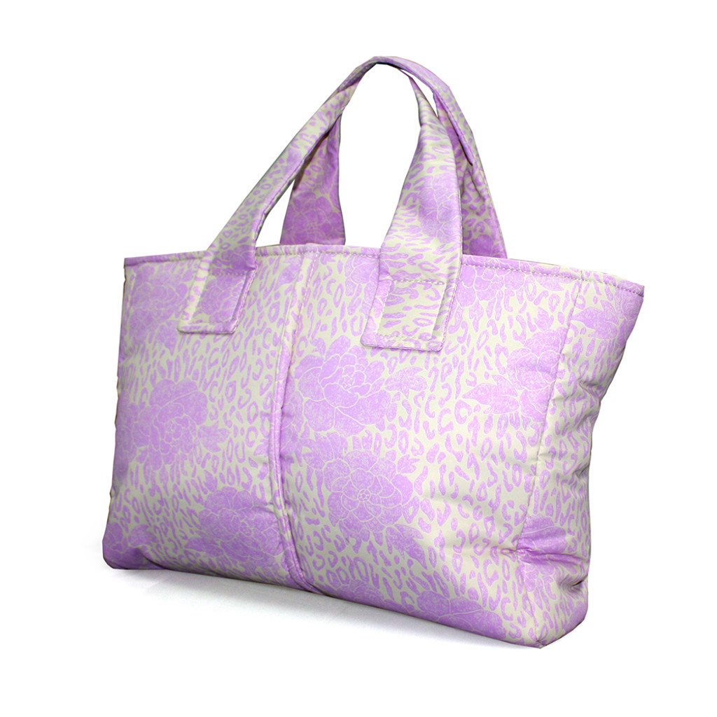 Compact Tote Bag - Rose Chic Pink