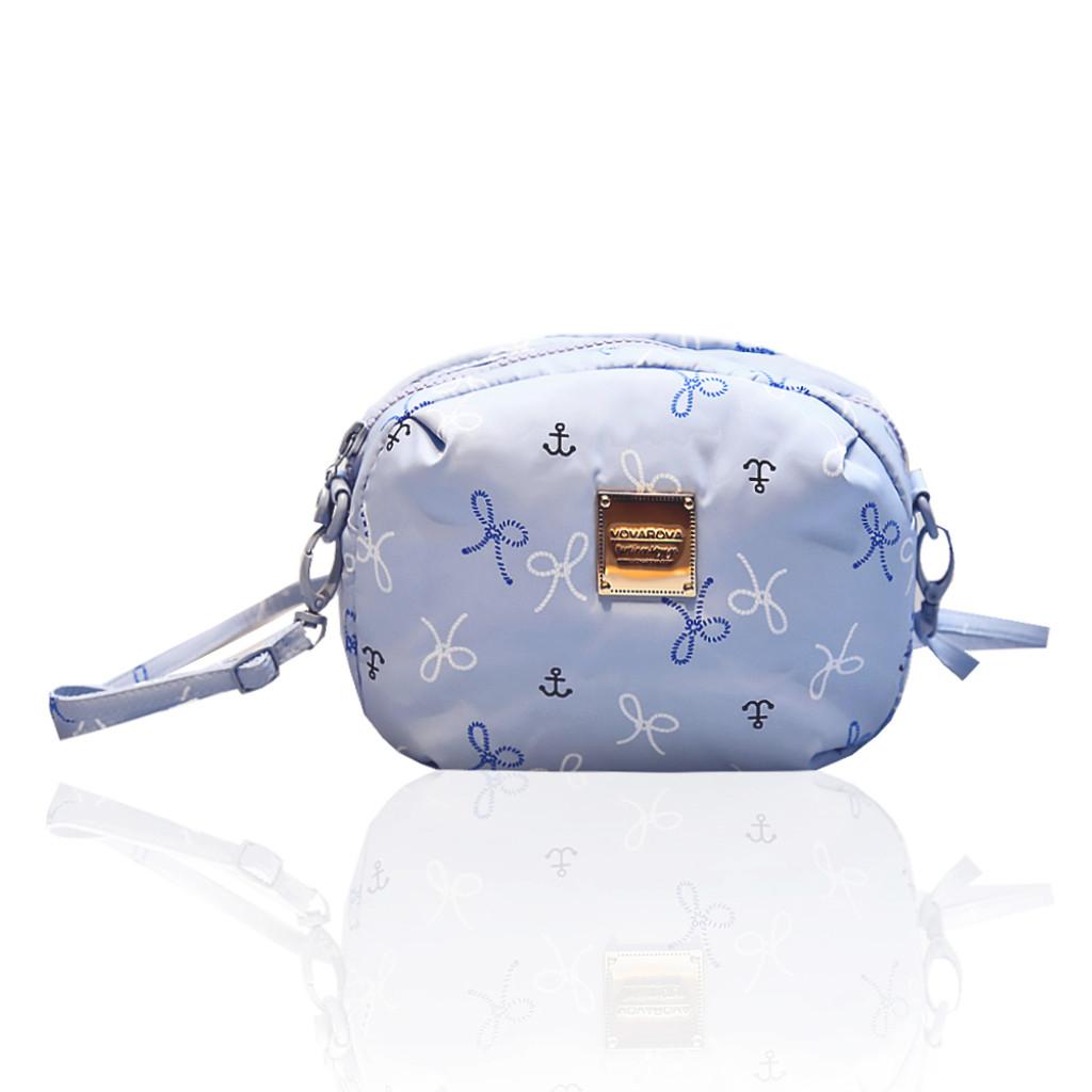 Mini Sling Bag - Petit Knot - Lt.Blue