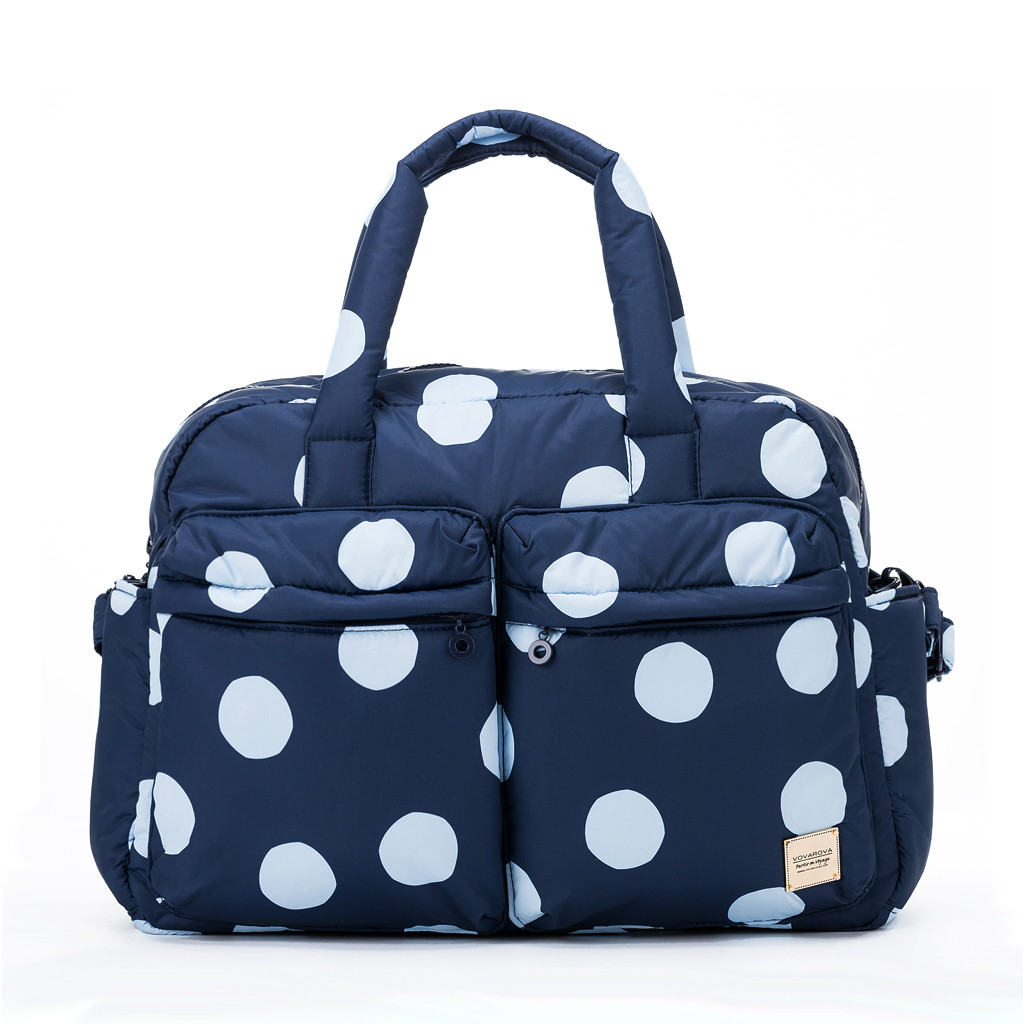 Weekender Bag - Bubble Deep Blue Sea