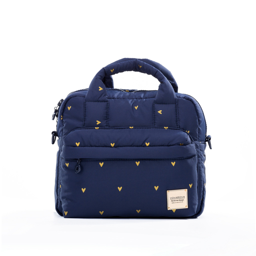 2-Way Cubic Backpack - Mini Heart