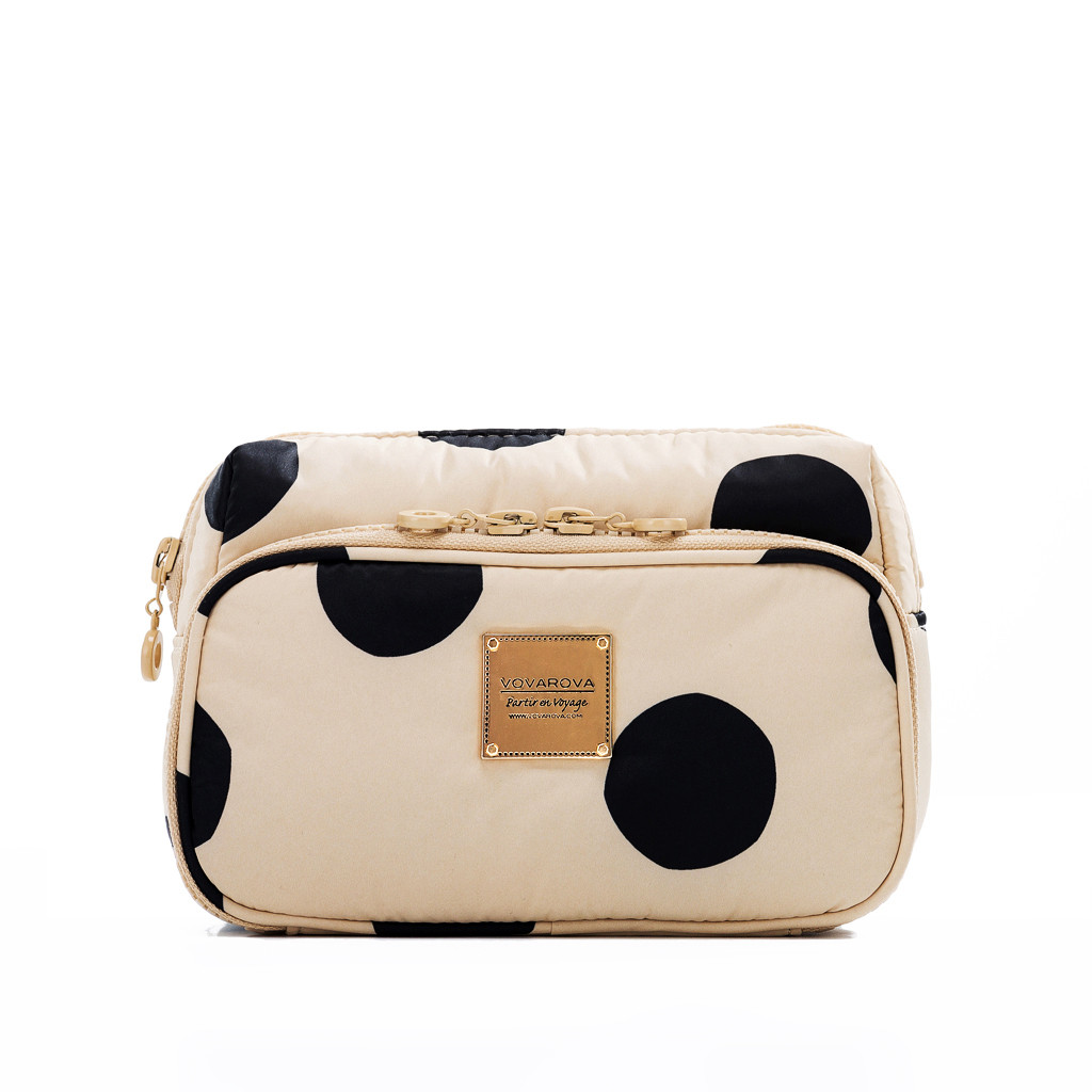 All-in-one Makeup Pouch - Bubble Milk Tea