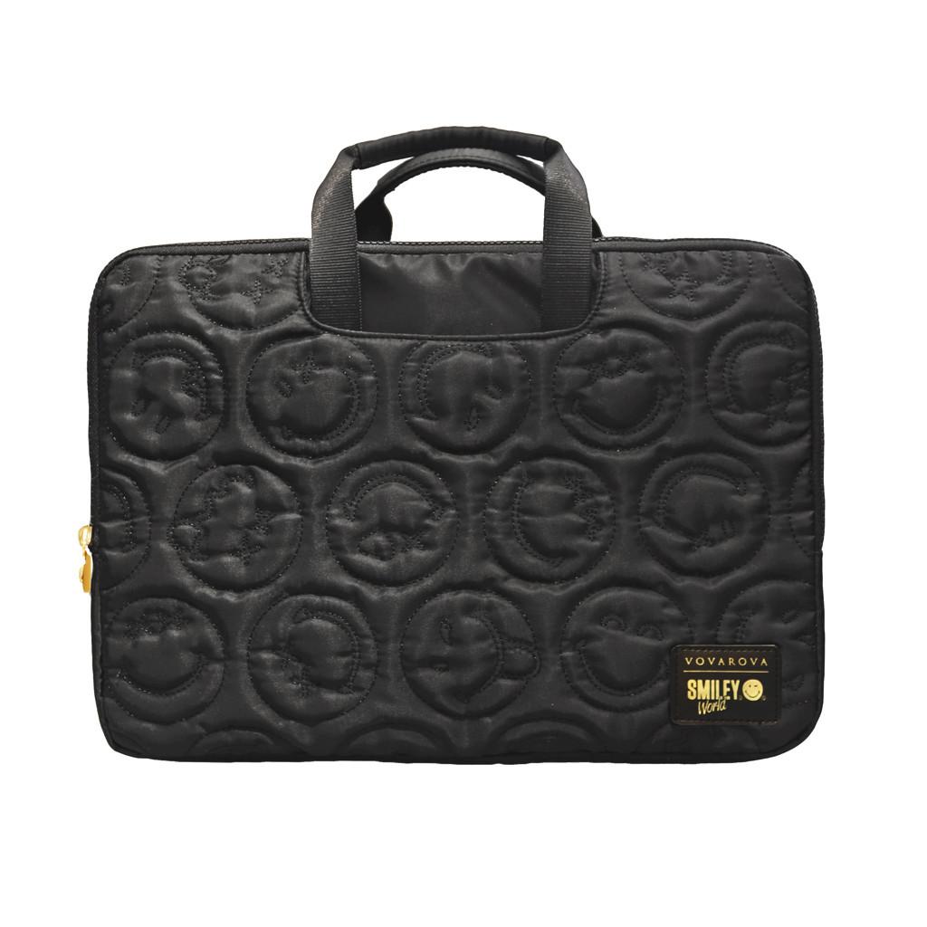 Vovarova x Smiley laptop carry bag