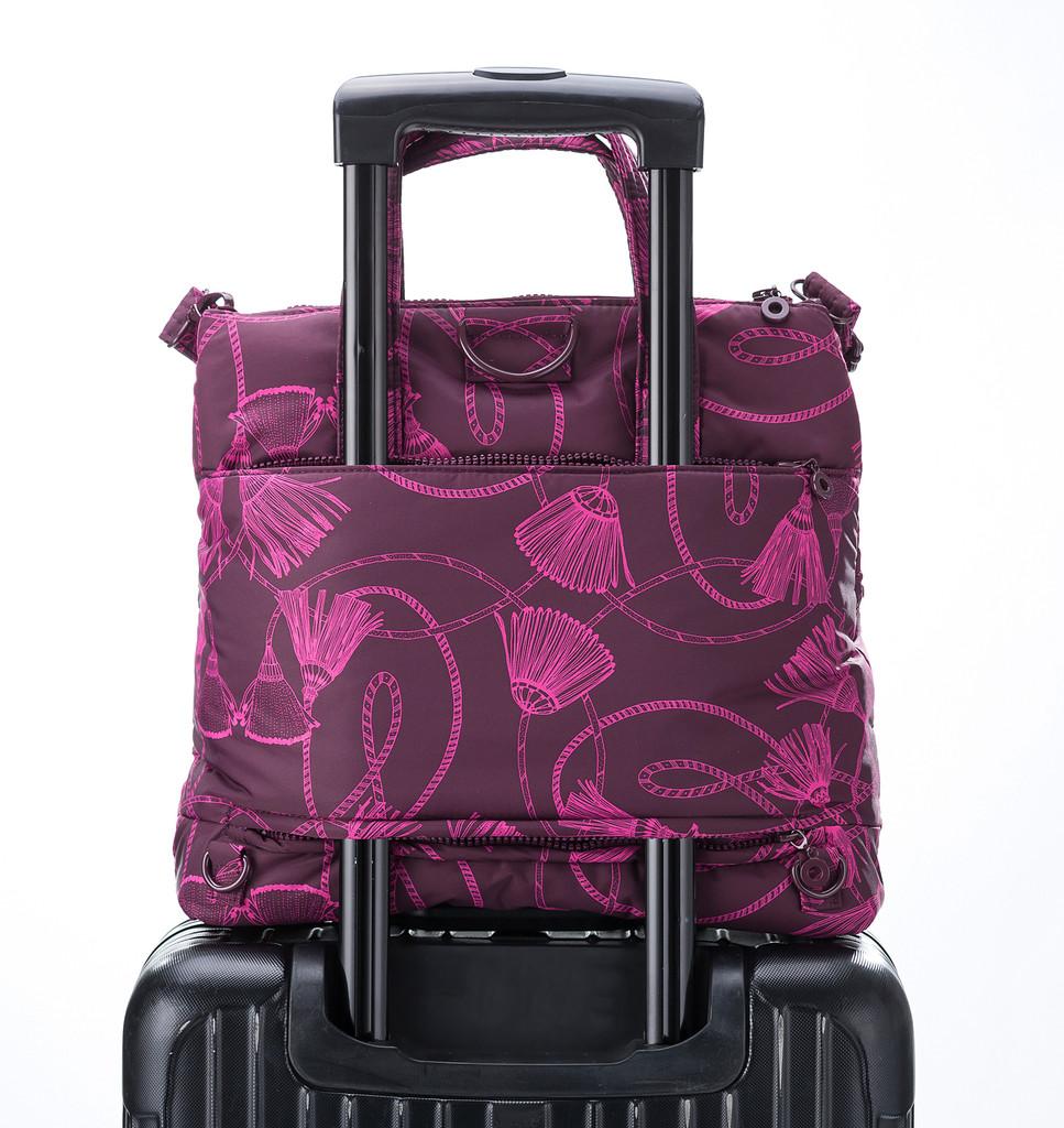 Convertible Satchel / Backpack - Tassel magic