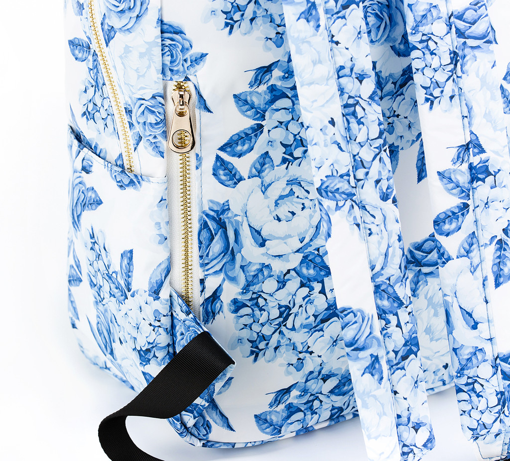 Daily Backpack - Rose in Bloom- Blue