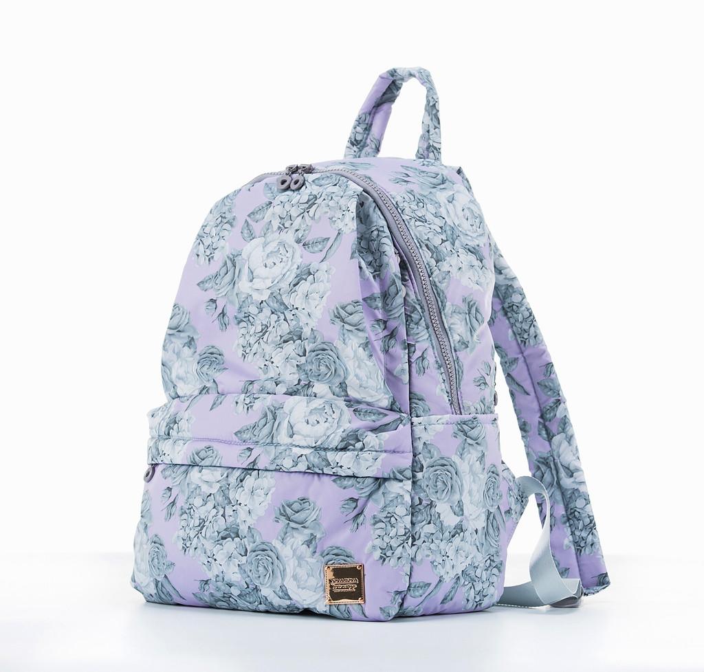 City Backpack  - Rose Garden Lilac