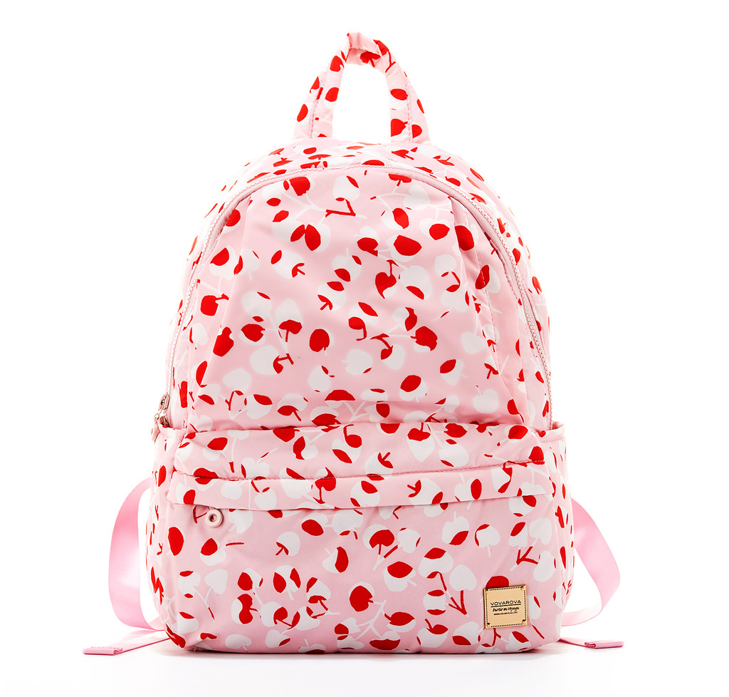 City Backpack  - Cherry Pastel