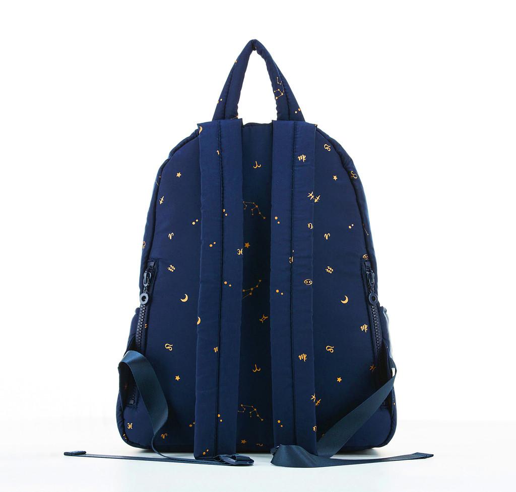 City Backpack  - Starry Zodiac - Metallic Gold