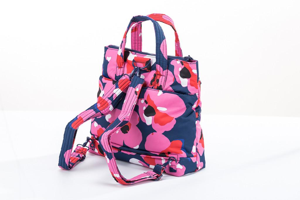 Convertible Satchel / Backpack - Kokio Pink