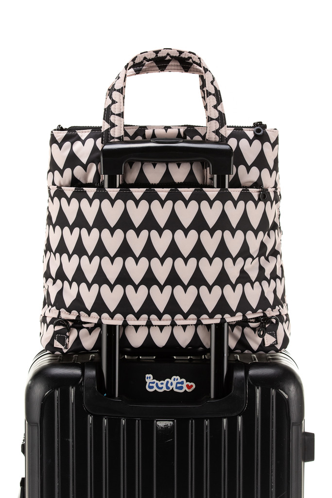 Convertible Satchel / Backpack - Love Charms