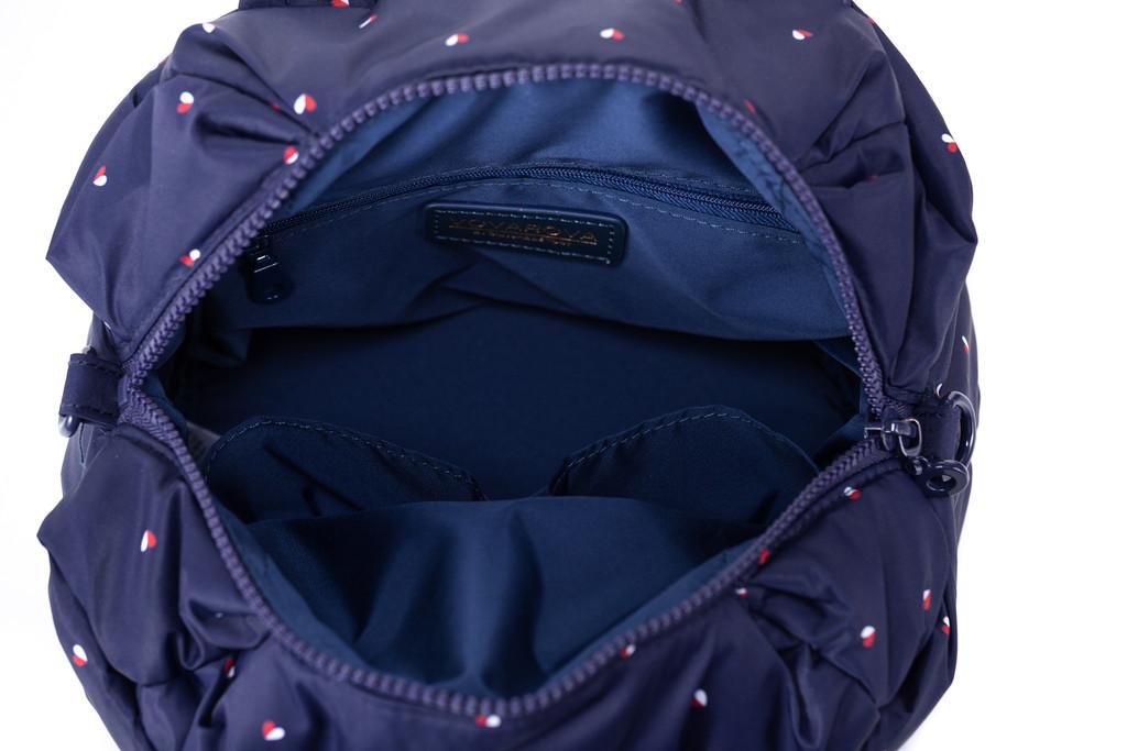 2-way Balloon Shoulder Bag - Gem of Heart - Nav