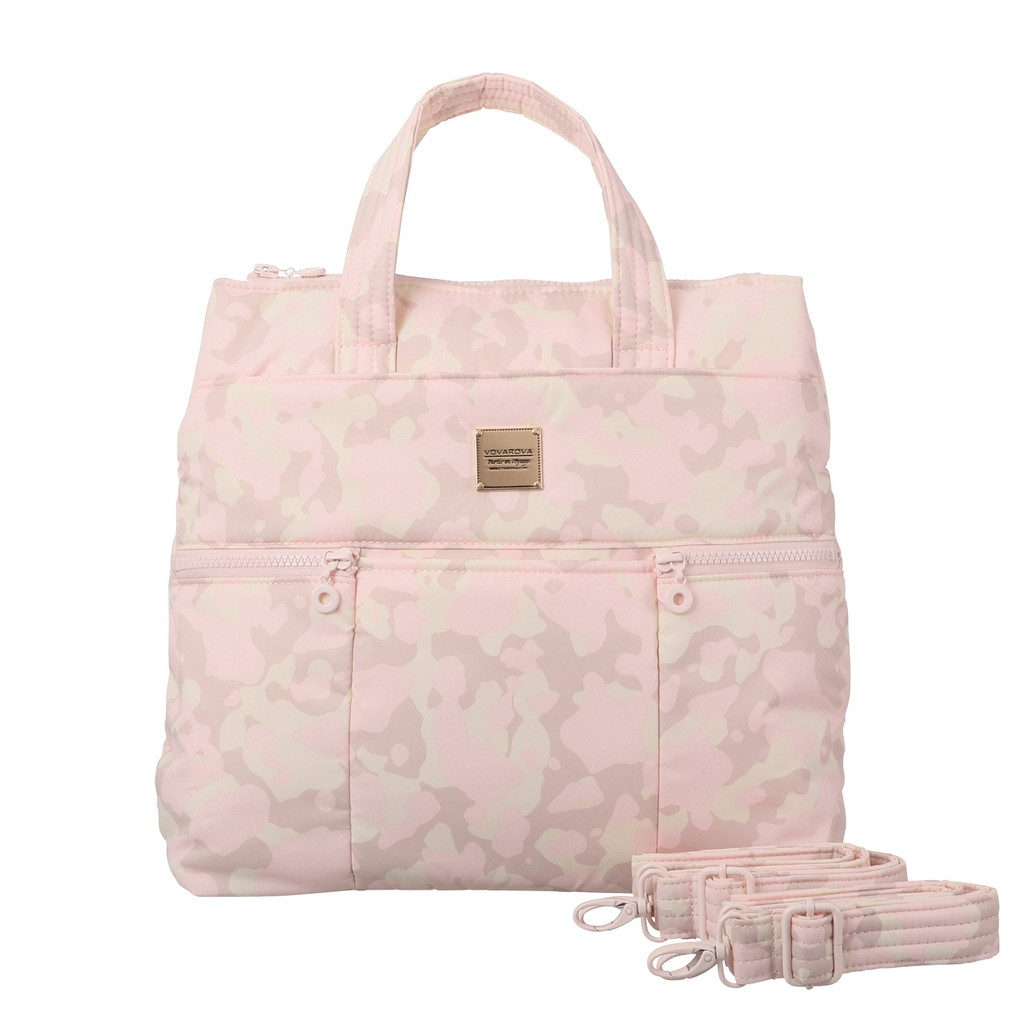 Convertible Satchel / Backpack - Pink Pudding Camo