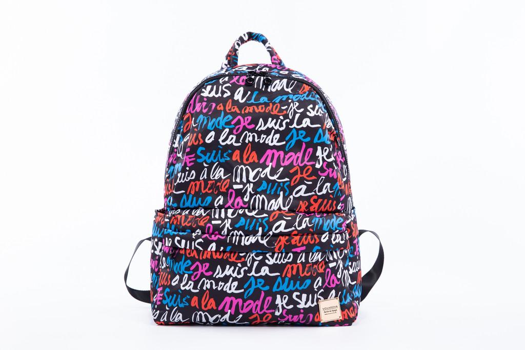 City Backpack - Je Suis a la Mode (Black)
