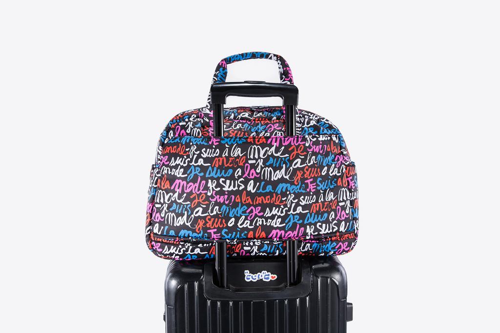 VOVAROVA Weekender Bag - Je Suis a la Mode (Black)