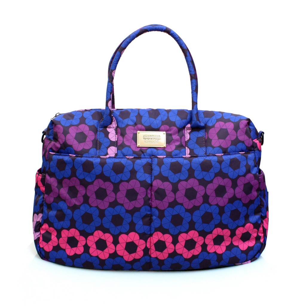 Boston Bag - Puzzled Floral