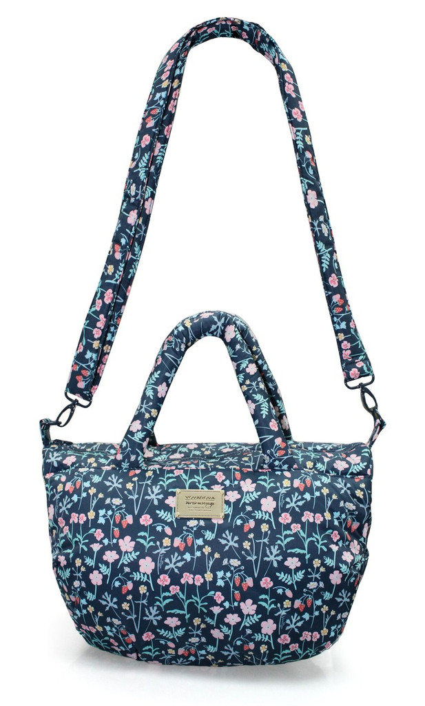 3-way Shoulder Tote - Strawberry Kiss