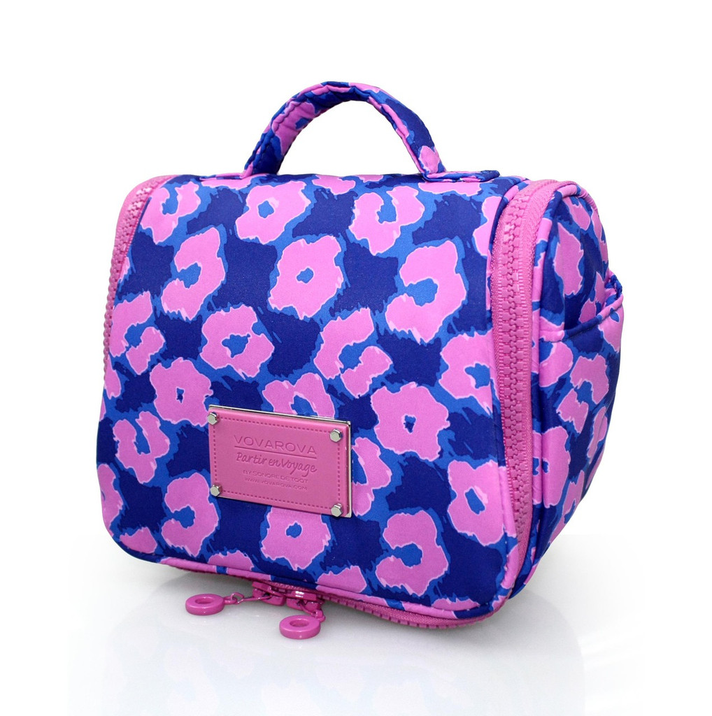 Toiletry Pouch - Leopard Illusion - Pink