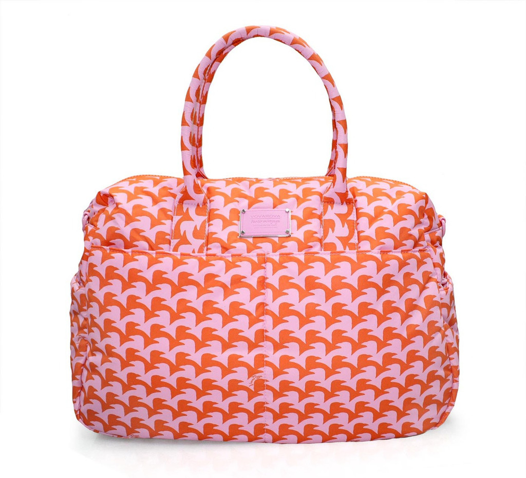 Boston Bag - Checker in Vogue - Pink