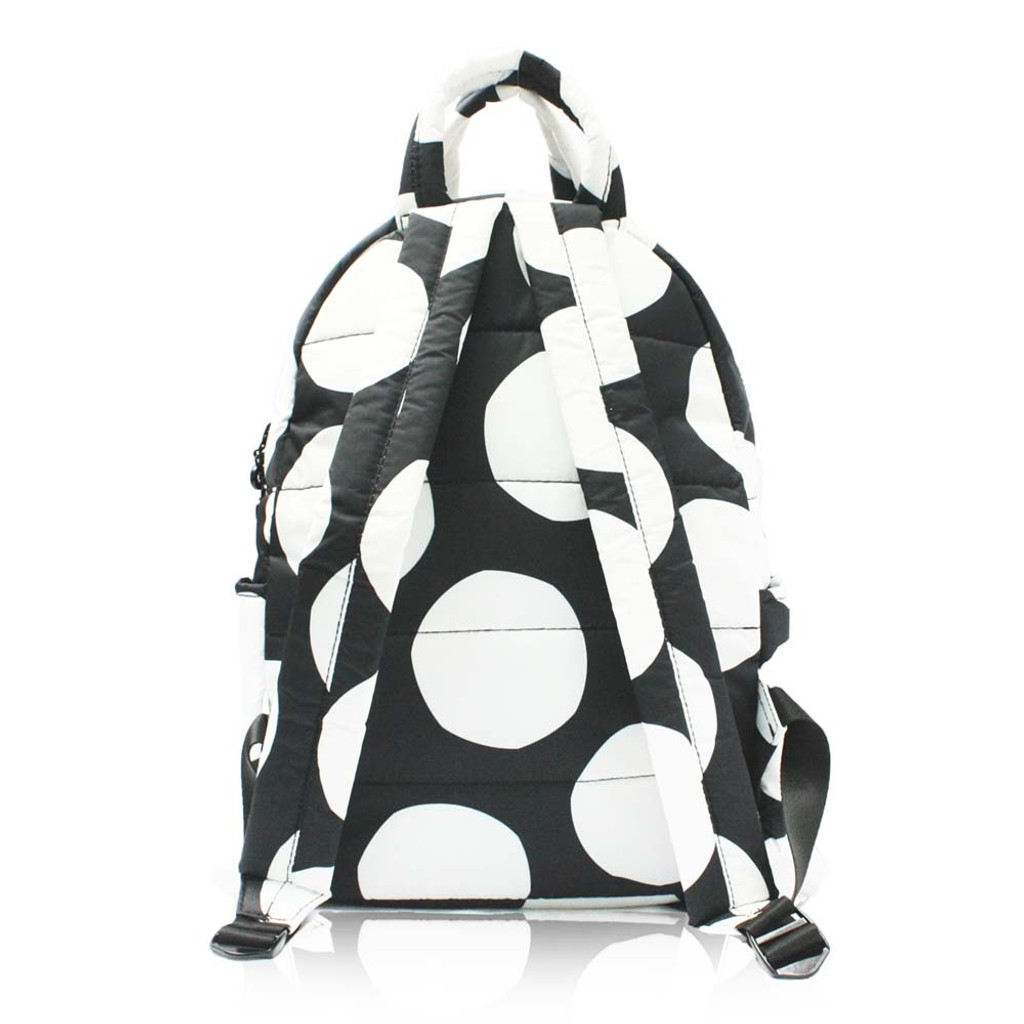 Backpack Medium - POP DOT – Black White