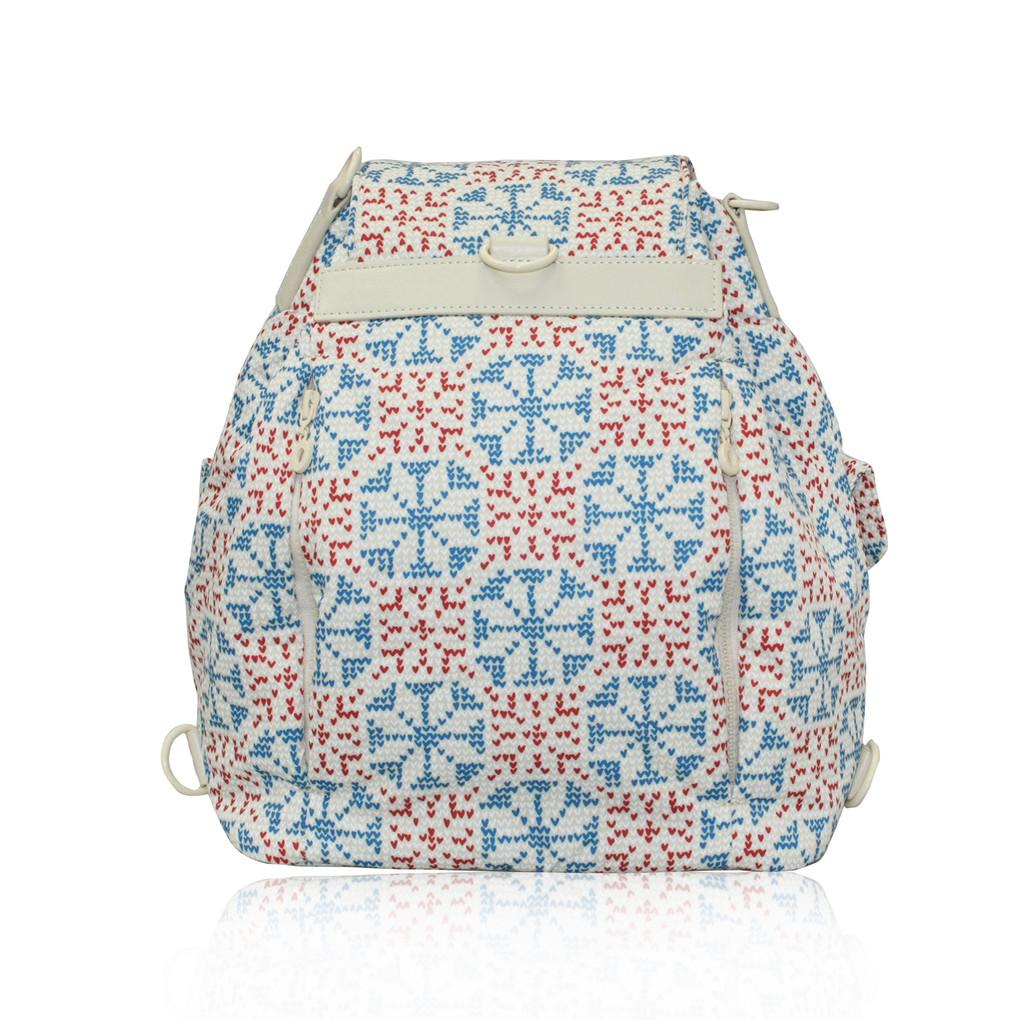 2 Way Drawstring Hobo Bag - Nordic tale Beige