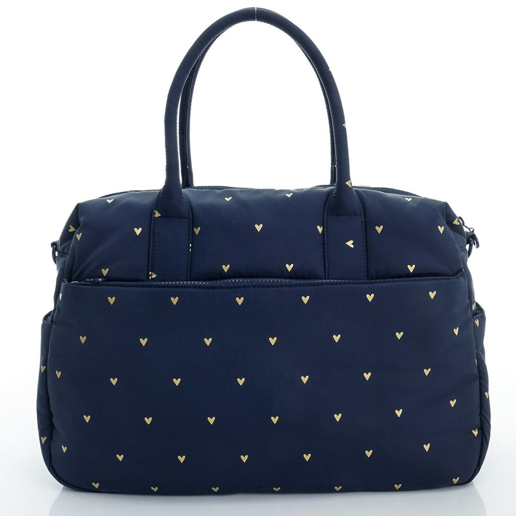 Boston Bag - Mini Heart - blue